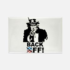 Back Off! Rectangle Magnet (100 pack)