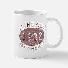 1932 Vintage (Red) Mug