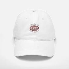 1932 Vintage (Red) Baseball Baseball Cap