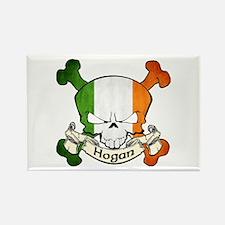 Hogan Skull Rectangle Magnet