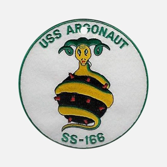 USS Argonaut SS 166 Ornament (Round)