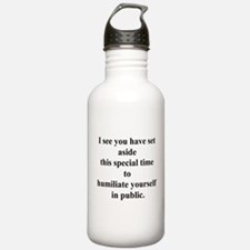 humiliate yourself Water Bottle