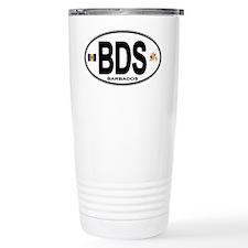 Barbadian Euro Oval Travel Mug