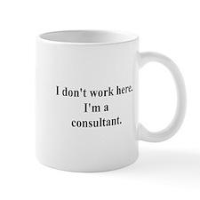 a consultant Small Mug
