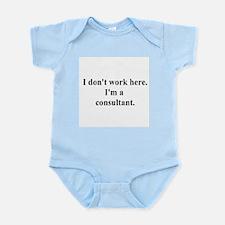 a consultant Infant Bodysuit