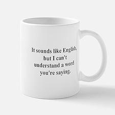 sounds like english Mug