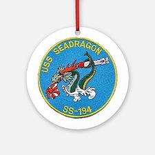 USS Seadragon SS 194 Ornament (Round)