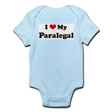 I Love Paralegal Infant Creeper