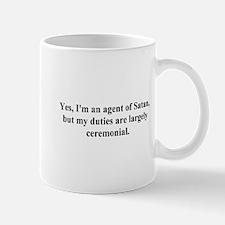 agent of satan Mug
