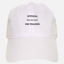 Personalized Dog Walker Baseball Baseball Cap