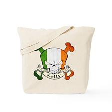Kelly Skull Tote Bag