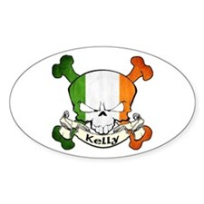 Kelly Skull Decal