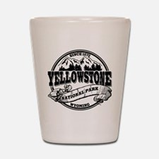 Yellowstone Old Circle Shot Glass