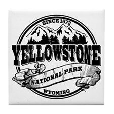Yellowstone Old Circle Tile Coaster
