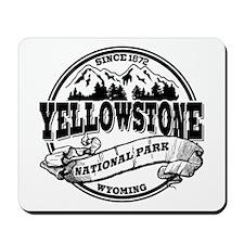Yellowstone Old Circle Mousepad