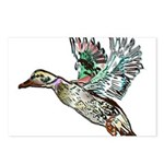Art Nouveau Mallard Duck Postcards (Package of 8)