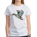 Art Nouveau Mallard Duck Women's T-Shirt