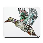 Art Nouveau Mallard Duck Mousepad