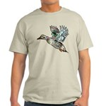 Art Nouveau Mallard Duck Light T-Shirt