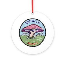 USS Growler SSG 577 Ornament (Round)