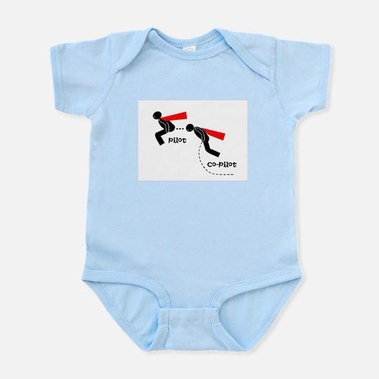 pilot&co-pilot Infant Bodysuit