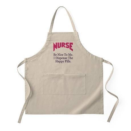 Nurse Be Nice To Me Apron