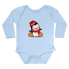 Pretty Penguin (2) Long Sleeve Infant Bodysuit