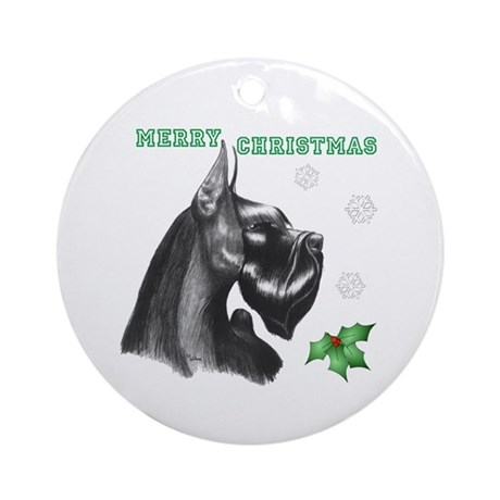 holly Jolly giant Ornament (Round)
