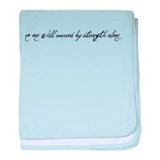 no one will succeed by streng baby blanket