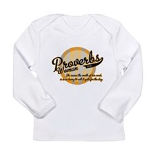 Proverbs Woman Long Sleeve Infant T-Shirt