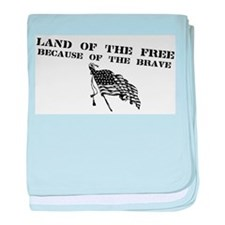 Unique Support the troops baby blanket