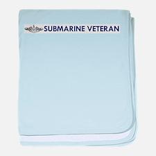 Submarine Veteran Dolphins baby blanket