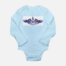 Submarine Dolphins Long Sleeve Infant Bodysuit