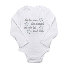 A Star Danced Long Sleeve Infant Bodysuit