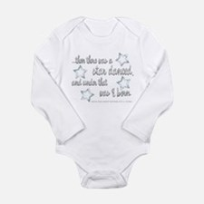 A Star Danced Long Sleeve Infant Bodysuit