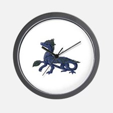 Cute Feathered dinosaur Wall Clock