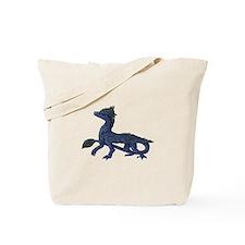 Cute Feathered dinosaur Tote Bag