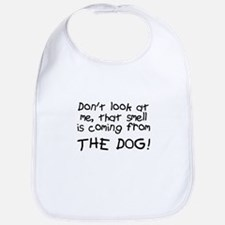 Baby Blame Dog Bib