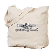 Silver Qualified Dophins Tote Bag