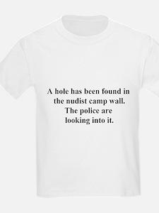 nudist camp hole T-Shirt