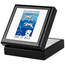 The Versatile Dalmatian Keepsake Box