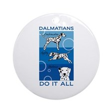 The Versatile Dalmatian Ornament (Round)
