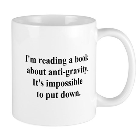 anti-gravity book Mug