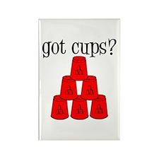 Got Cups? Rectangle Magnet