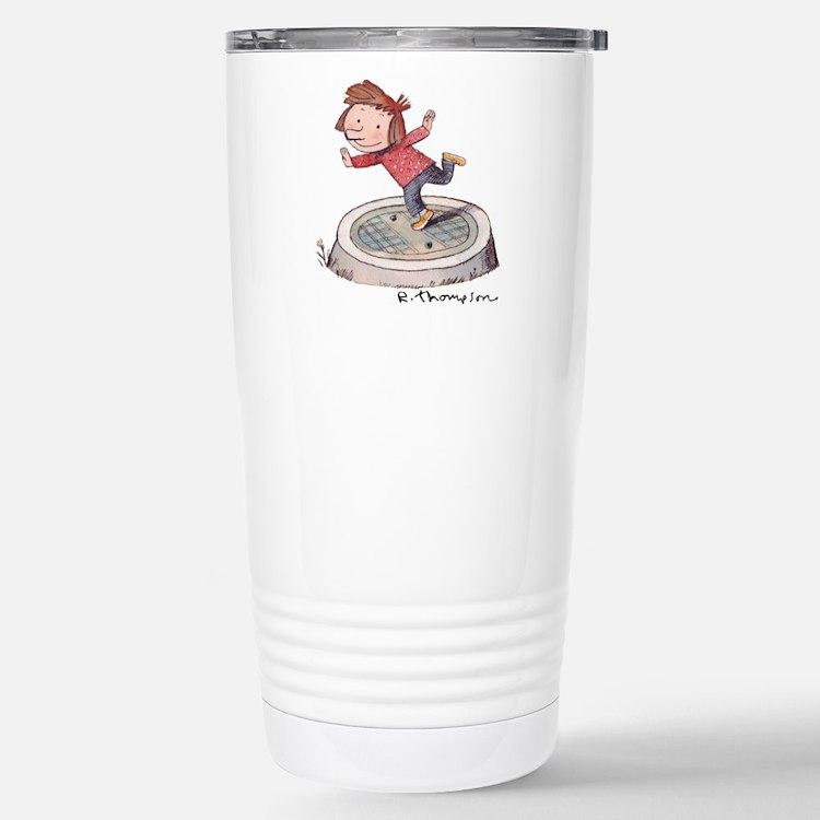 Cute Otterloop Travel Mug