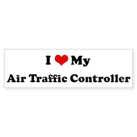 I Love Air Traffic Controller Bumper Sticker