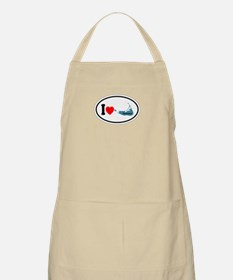 Nantucket MA - Oval Design Apron