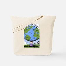 Cute Comic strip Tote Bag