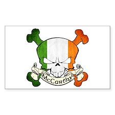 McCarthy Skull Decal