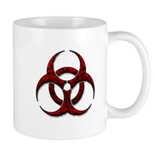 Red Bio-Hazard Design Mug